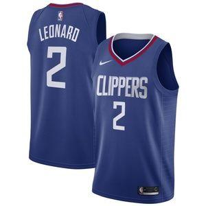 Kawhi Leonard Nike Blue